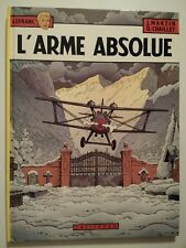 LEFRANC  ** TOME 8 L ARME ABSOLUE ** EO  MARTIN/CHAILLET