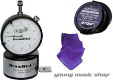 DrumDial Drum Head Precision Tuner Drum Dial with Free Moongel