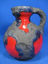 70´s design Roth Fat Lava Keramik jug vase  / Krug Vase  19 cm