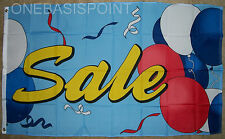 3X5 Sale Balloons Flag Outdoor Banner Sign Advertising