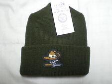 Gov't Issue OD 100%Wool Watch Cap Death Ranger Punisher Beanie Skullcap Knit Hat