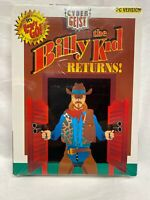 Vintage Billy the Kid Cyber Geist PC Game Brand New Sealed 3.5 Disk IBM Tandy