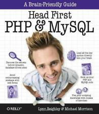 Head First Php and MySql by Beighley, Lynn -ExLibrary