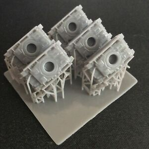 Pack of 5 Panzer IV 4 G   Resin 1:285 Scale For Micro Armour