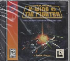 Star Wars: X-Wing vs. TIE Fighter PC 1997 Lawrence Holland Computer Game 2 Discs