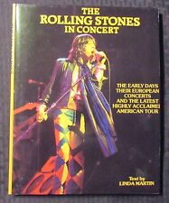 1982 THE ROLLING STONES IN CONCERT by Linda Martin HC/DJ VF/FN Crescent