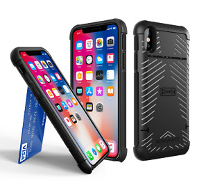 Scooch WINGMATE Hidden Wallet Case for Apple iPhone Xs Max - Stone