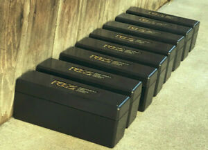 Lot of 6 USED PCGS Black Storage Boxes -  20 Coin