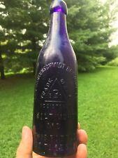 Purple Geo. Bauernschmidt Brewing Co. Baltimore Md. Pint Blob Beer