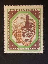 ERINNOFILO  SPAGNA 1929