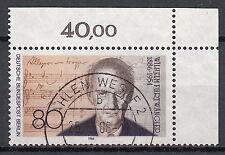Berlin 1986 Mi. Nr. 750 Gestempelt Eckrand (24493)