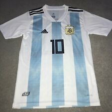 Messi Argentina Jersey 2018/2019 Shirt Top Adidas Football Age 15/16 Years Old