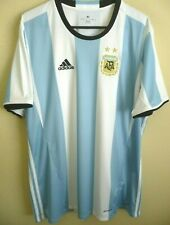 7b18edf8814 adidas Argentina 2016/17 Home Soccer Jersey Mens Size XL Ah5144