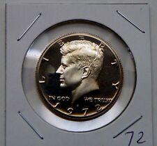 1972 S Proof Kennedy Half Dollar Coin U.S Mint