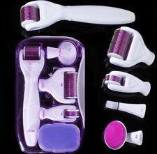 6in1 Derma Roller Skin Therapy Micro Needle Titanium Microneedle Scar Pro Health