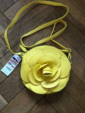Girls Claire's Accessories Yellow Shoulder Bag BNWT Handbag