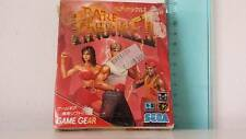 BARE KNUCKLE II  GAME GEAR VINTAGE TOY
