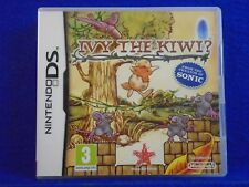 ds IVY THE KIWI? Game From The Creators Of Sonic Lite DSi 3DS PAL UK REGION FREE