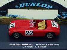 1/43 IXO FERRARI 166MM #22 WINNER LE MANS 1949