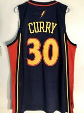 Adidas Swingman NBA Jersey Golden State Warriors Stephen Curry Navy HWC sz M