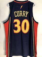 Adidas Swingman NBA Jersey Golden State Warriors Stephen Curry Navy HWC sz M