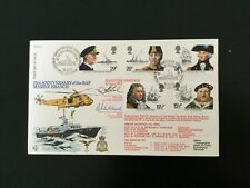 GB 1982 Maritime Heritage FDC scarce RAF,BFPO Signed cover(F75)