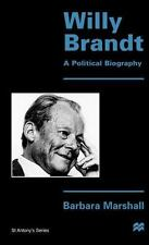St Antony's: Willy Brandt : A Political Biography by Barbara Marshall (1996,...