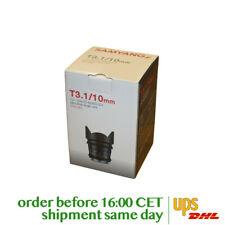 Samyang 10mm T3.1 VDSLR ED AS NCS CS II for Sony A (DT)