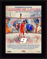 """Chase Elliott 10.5"""" x 13"""" First Monster Cup Victory Sublimated Plaque - Fanatics"""