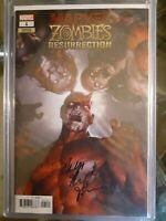 Marvel zombies resurrection 1 variant Signed By Phillip  Kennedy Johnson ...
