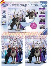 Puzzle XXL Frozen ElSa Anna Olaf 100 piezas ( Ravensburger 10557 1)  España 24H
