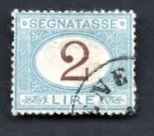 1870 ITALIA : Segnatasse - Lire 2  - usato