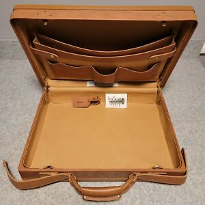 NOS Hartmann Briefcase Attaché Lawyer's Case 18 x 13 w/Paperwork & Keys