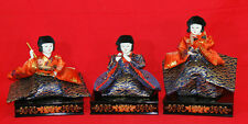 Dolls called the court musician dolls (Japanese noble clothes of 8-12 centuries)