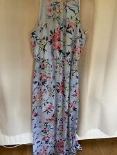 floral maxi dress size 14