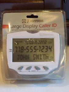 Emerson Large Display Caller ID Multi- Language 80 Number Memory EM50WM