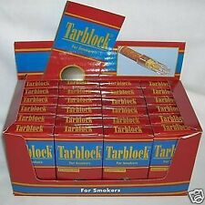 NEW Tarblock Cigarette Filters 30 Count Pack of 24 FREE SHIPPING