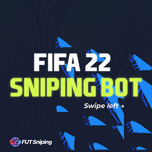 FIFA 22 ULTIMATE TEAM SNIPING BOT AND AUTOBIDDER   SUPERFAST  AUTOMATIC DELIVERY