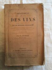 Raymond Boireau Traitement pratique des Vins, Méthodes bordelaises 1867