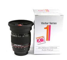Vivitar Series 1  AF 28-200mm F3.8-5.6 FOR Minolta AF .