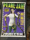 Pearl Jam  1995 SALT LAKE CITY, FASTBACKS  Original Poster Ames Bros NM- Rare