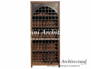C – Antique Double door Wardrobe with Iron Doors. 3568CA