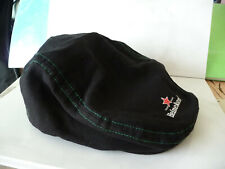 Heineken cap hat casket black green advertising beer used rare star