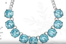 Chloe + Isabel Color Code Aqua Collar Necklace  N282AQ - New Rare Beauty Only 1