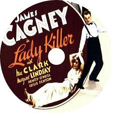 LADY KILLER (1933) James Cagney Mae Clarke Margaret Lindsay DVD