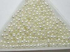 2000 Faux Pearl Round Beads Imitation Pearl 3mm Seed Beads Color Choice