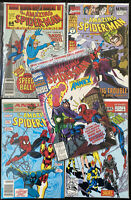 The Amazing Spider-man 🕷 High Grade Marvel Comics Lot Of 5 Annuals 1988-1993 🕸