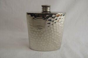 pewter hip flask