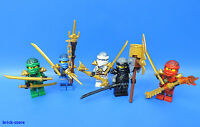 LEGO® Ninjago 5 Figuren  / LLoyd / Jay / Zane / Cole / Kai / Polybag
