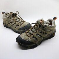 Merrell Walnut Moab Ventilator Mid Vibram Hiking Shoes J86593 Mens Size 9 US